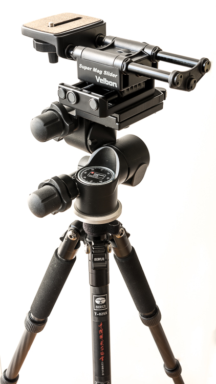6 Platform tripod - Working with Different Focal Lengths for Macro Photography