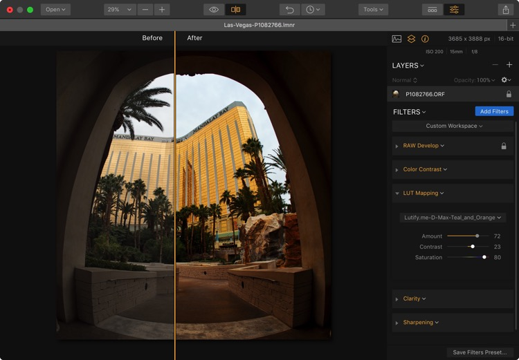Las vegas comparison - Easy Color Grading With LUTs and Luminar 2018