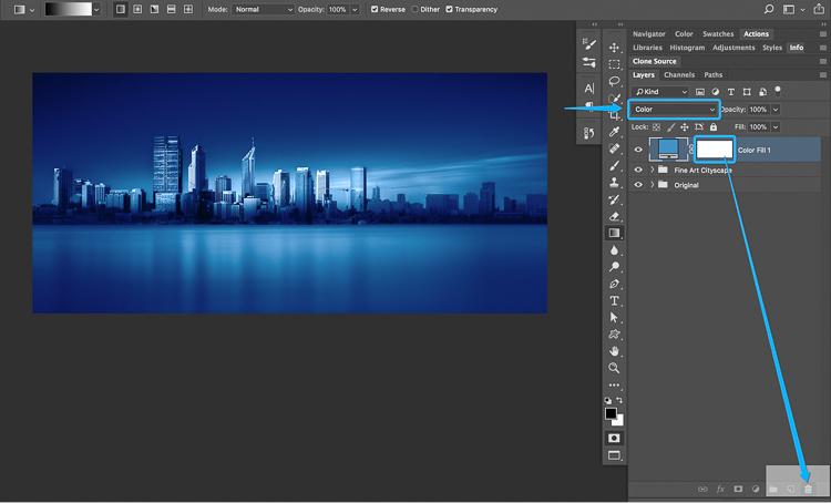 18 How to split tone black and white images using luminosity masks