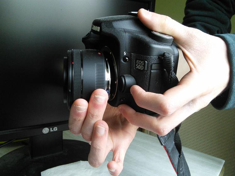 camera freelensing detach lens