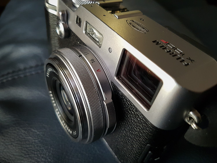 Image: I photographed my new Fuji X00F when I first got it.