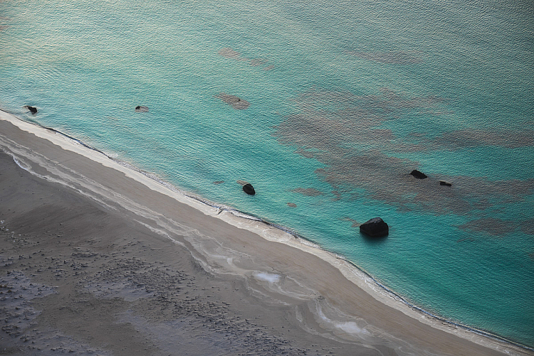 the best ISO for landscape photography beach aerial