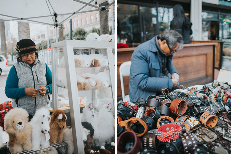 Tips for photographing street markets - market vendors