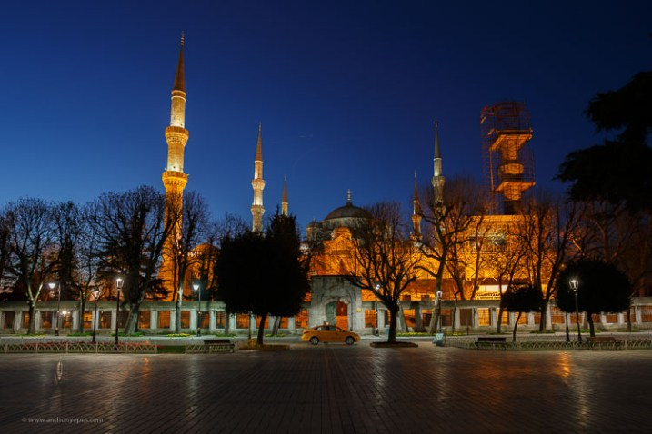 Blue hour mosque Istanbul - How to overcome your technical or artistic shortcomings and improve your photography