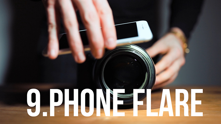 Phone flare technique
