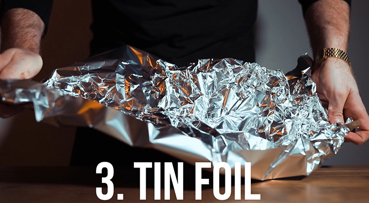 Tin foil - 10 Amazing Camera Hacks for Dog Photography