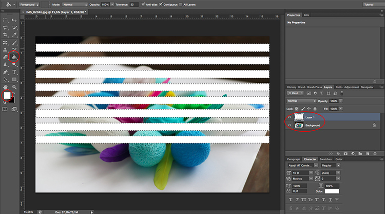 Edit Fill Venetian Blinds Through Window Light Photoshop Tutorial jpg