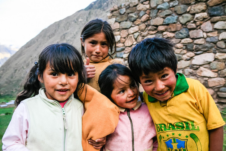 Peruvian kids - 4 Reasons Why Putting Your Camera Down Can Help You Take Better Photos
