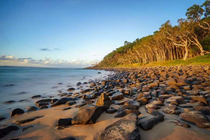 tea tree bay sunset noosa heads queensland australia - photography portfolio