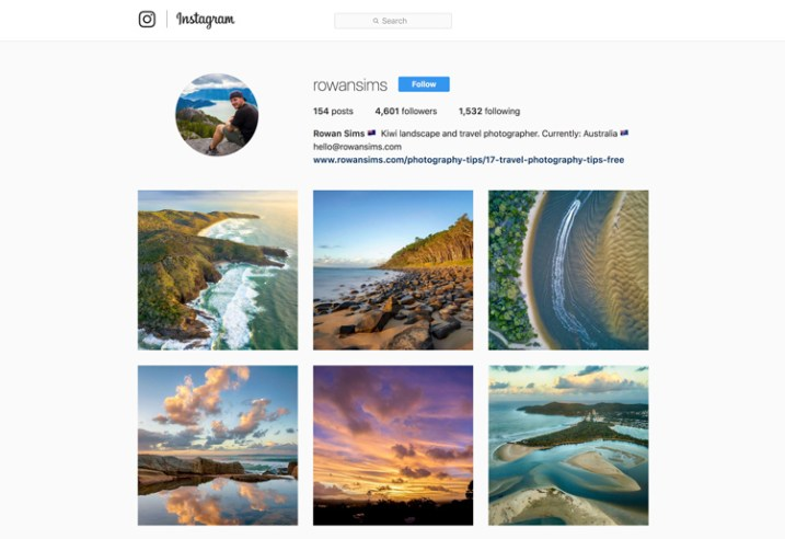 instagram free vs paid photography portfolio websites