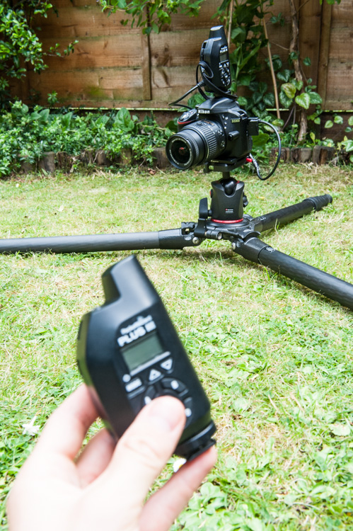 Remote camera setup