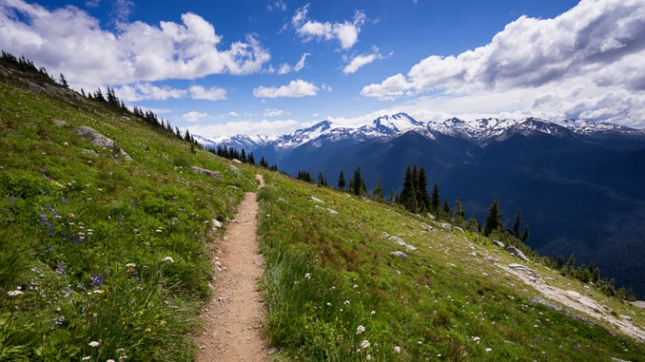 hiking trail in the mountains - 12 Good Reasons Why You Should Start a Photography Blog