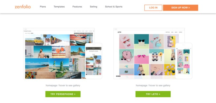 zenfolio free vs paid photography portfolio websites