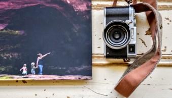 A photobook and a camera