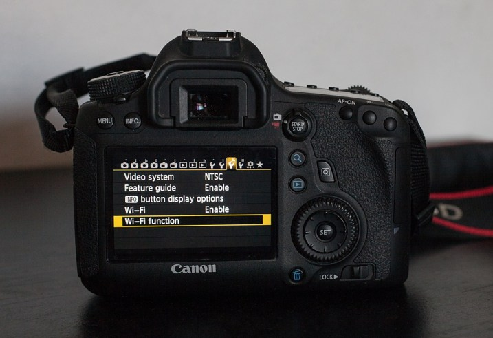 Canon Camera Connect Application