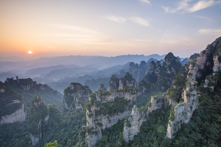 Zhangjiajie China scene - better vacation photos