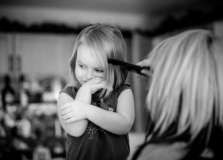 First hair cut. How Conquer Your Fear of People as a Photographer