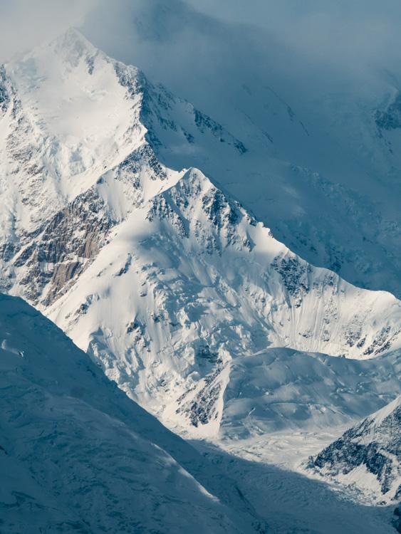 图片:相当于600毫米,我可以在阿拉斯加德纳利国家公园带来Denali山脊......