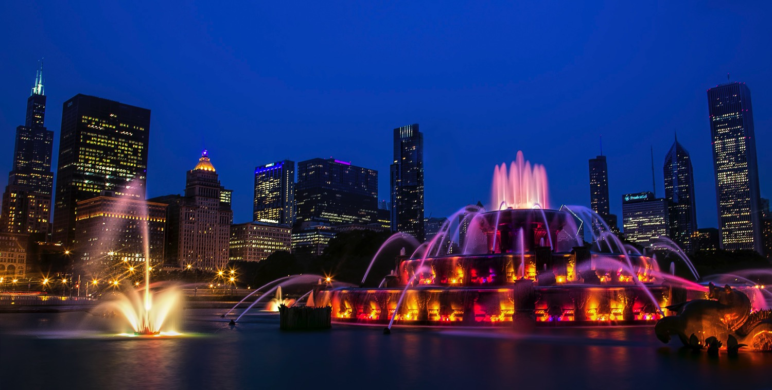 Buckingham Fountain - dPS Ultimate Guide to Night Photography