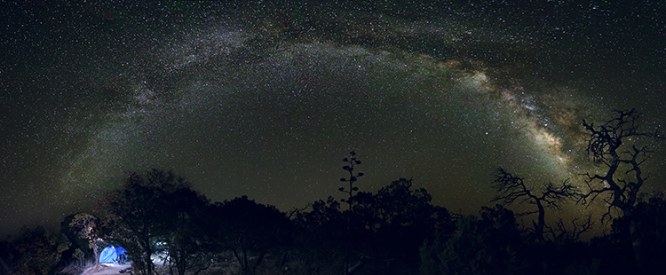 Photo of the Milky Way at night - How to Choose a Lens for Night Sky Photography