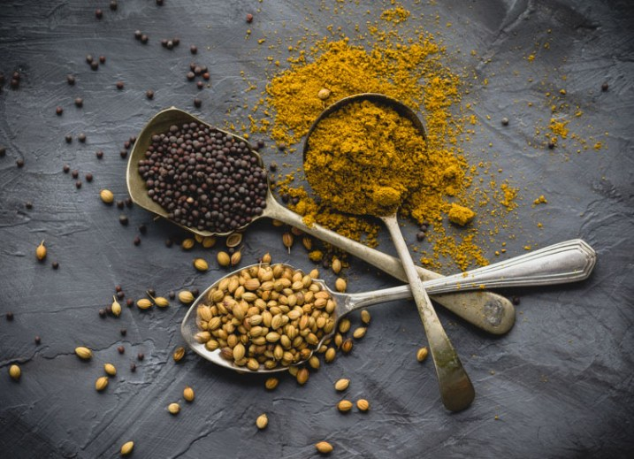 spices in 3 spoons - 9 Ways to Create Balance in Your Photography