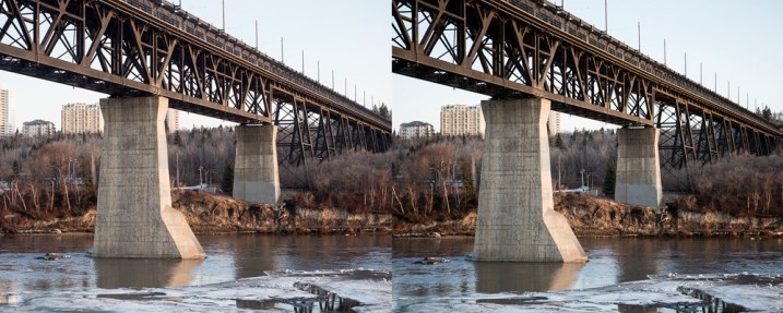 Making Sense of Lens Optics for Crop Sensor Cameras - two bridge photos side by side