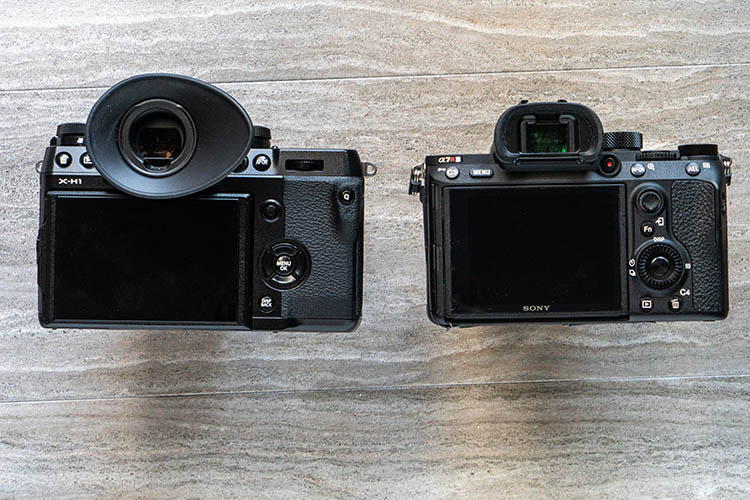Sony a7riii versus fujifilm x-h1 cameras - Camera Comparison - The Fujifilm X-H1 Versus the Sony a7R III