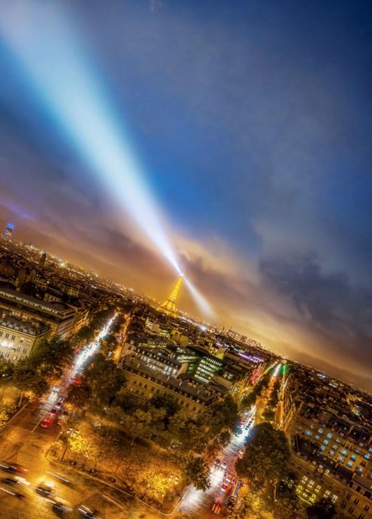 make great photos - Paris at night