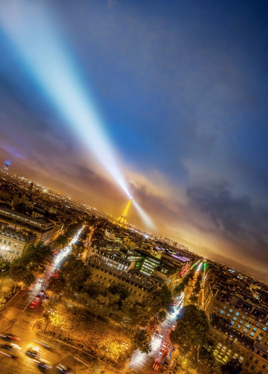 make great photos - Paris at night