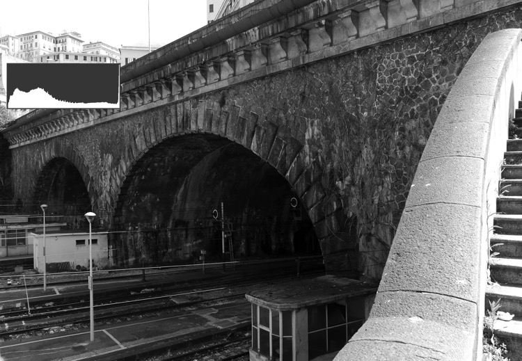 Genoa Bridge before - You Should See what You're Missing - Disadvantages of Shooting JPGs