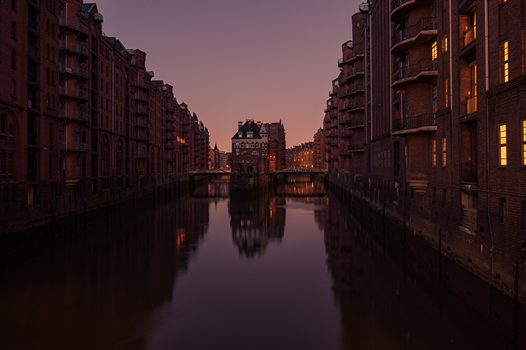 House in Hamburg - How to Create Your Own Style by Using LUTs in Photoshop