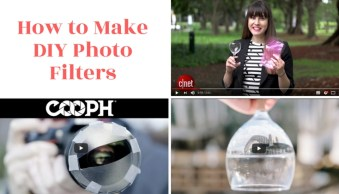 How to Use Ordinary Items to Make DIY Photo Filters