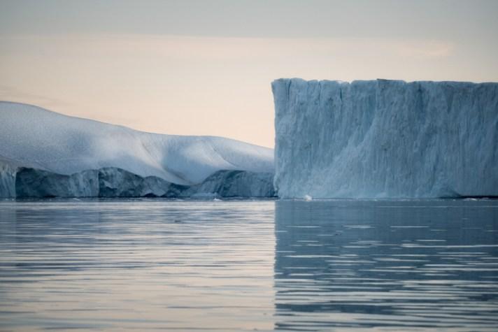 冰山与水 - 使用不同的快门速度进行风景摄影