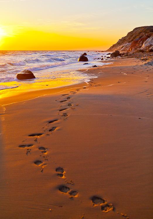 海滩日落 -  5个框架技巧,以帮助您捕获更好的风景照片