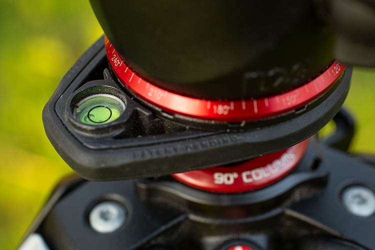 21 Tips to Help You Create Better Panoramas - tripod head detail