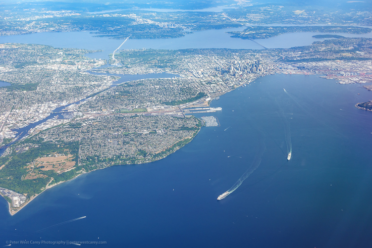 Image: Seattle and Elliot Bay – USA ISO 80, f/5, 1/320th.