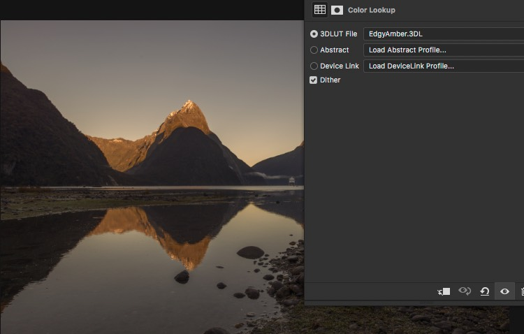 Change opacity Result - How to Create Your Own Style by Using LUTs in Photoshop