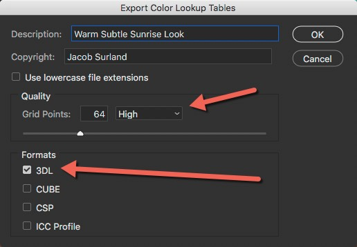 How to save LUT - Settings - How to Create Your Own Style by Using LUTs in Photoshop