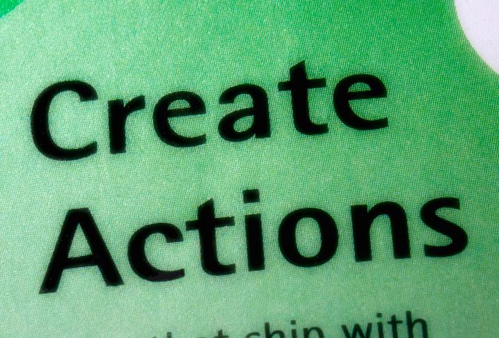 Create photoshop actions