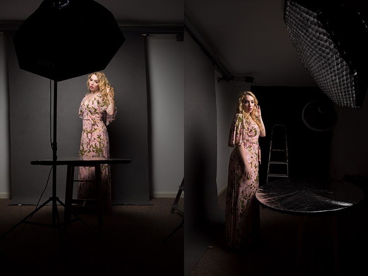 behind the scenes studio shots - How to Mimic Window Light in a Studio Environment