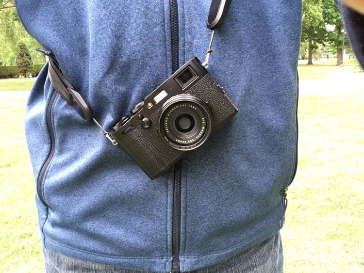 Review: Peak Design Anchor Links - camera with a neck strap
