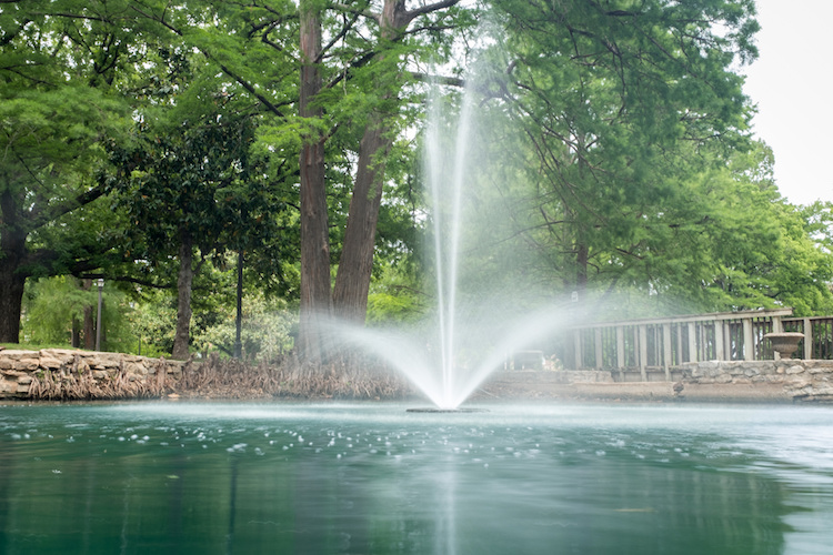 shot of a fountain - How to Create Silky Smooth Water Effects