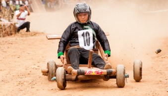 Hmong New Year kart racing by Chiang Mai Photo Workshops