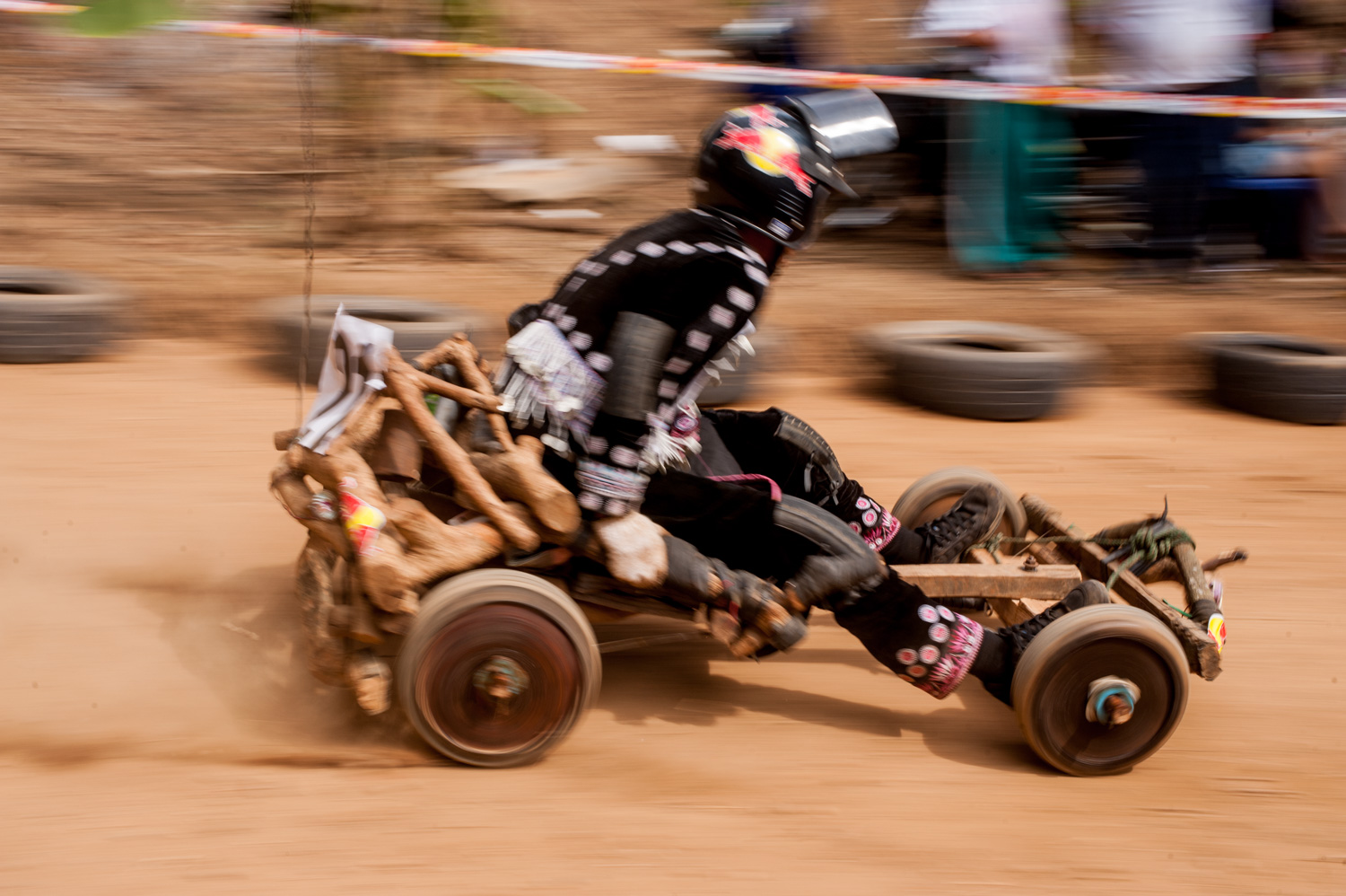 Hmong New Year kart racing - Action Photos
