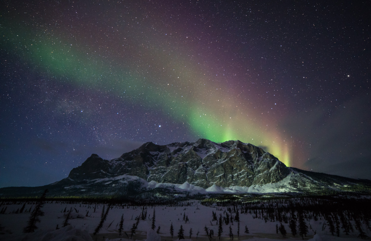 northern lights over a mountain - Five (More) Uncomfortable Truths About Photography