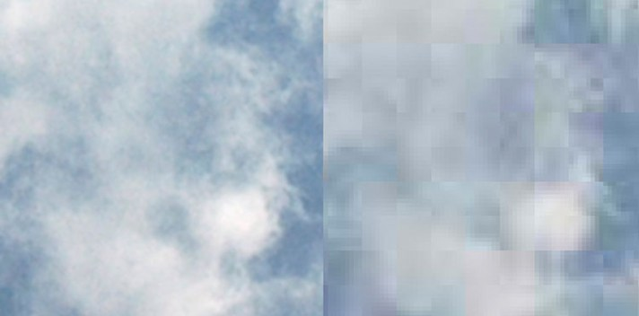 JPEG Clouds - Why All JPEG Images Are Cobbled At Birth