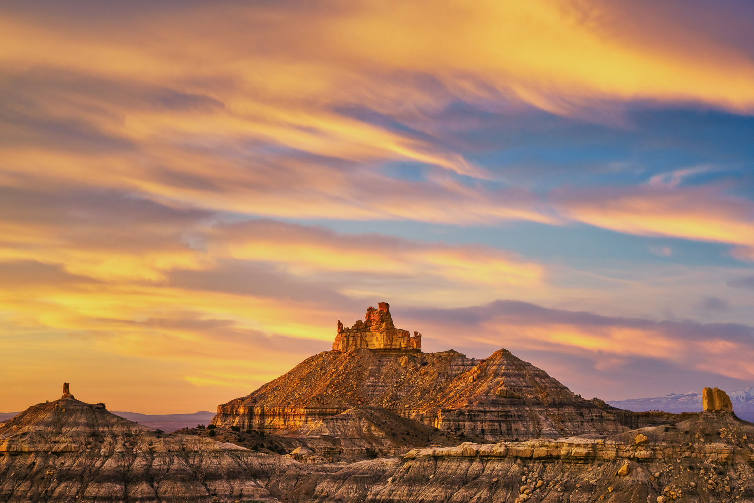 Angel Peak New Mexico by Anne McKinnell - Beginner's Guide to Natural Light in Landscape Photography