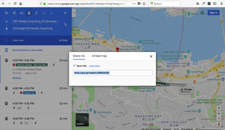 Google map - How to Search Potential Cityscape Photography Spots Online Before Traveling