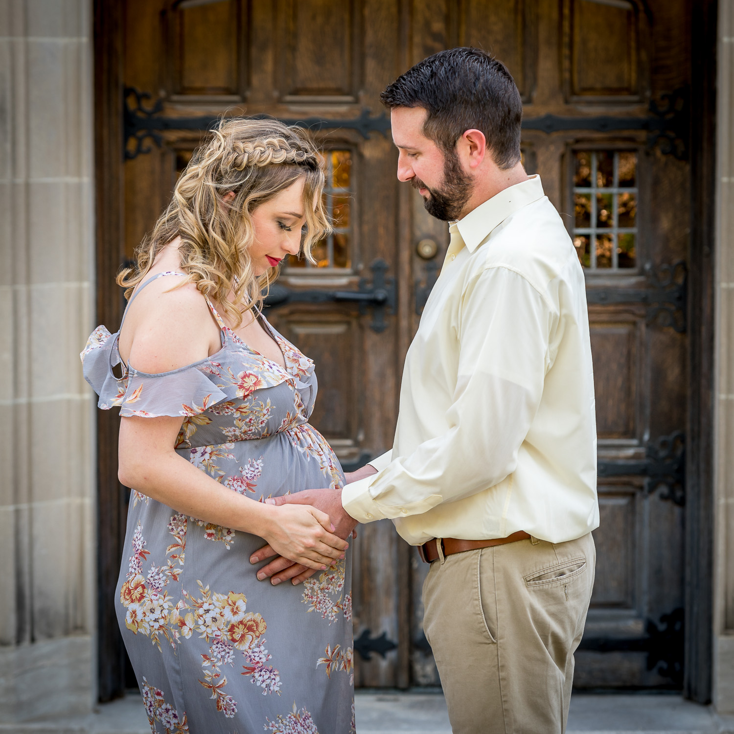 maternity portrait - How to Use the Lightroom Editing Trifecta: History, Snapshot, and Virtual Copies