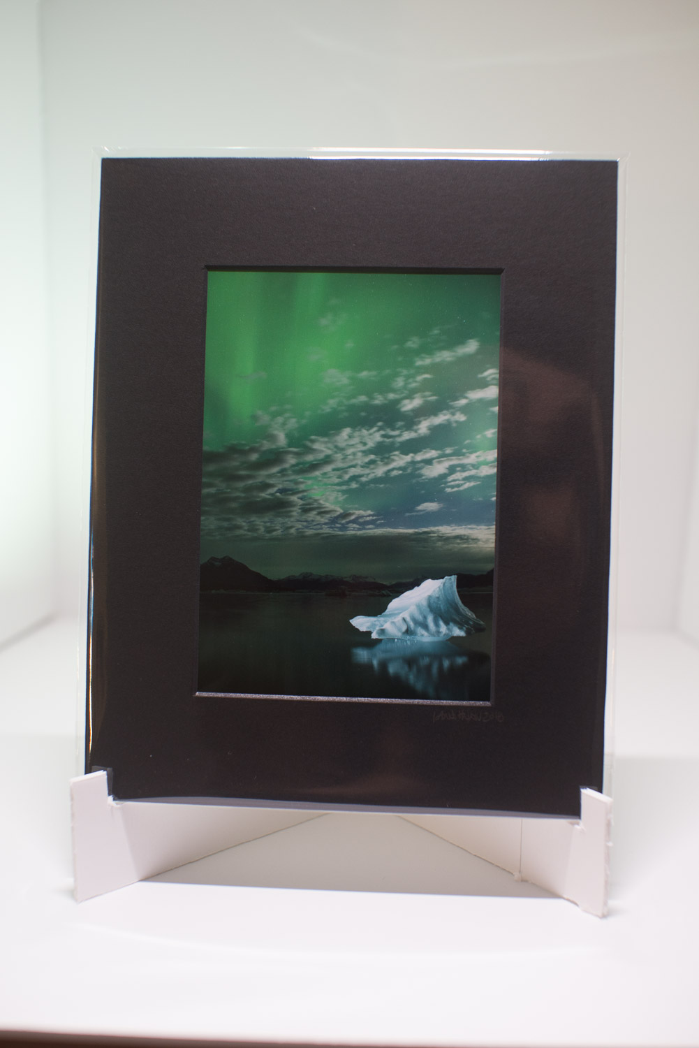 Tips for Photographing Artwork for Marketing Purposes - photo in a frame on a small stand